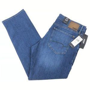 Mavi Myles Straight Leg Mens Blue Jeans